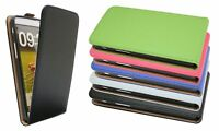 Handy Tasche Klapp Hülle Schutz PU-Leder für LG G PRO LITE DUAL SIM D686 @COFI