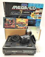 Sega Mega-CD Mk 1 Video Game Console Bundle PAL TESTED BOXED