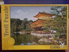 Kinkakuji Buddhist Temple Japan 1500 piece 85 x 58 cm puzzle Trefl
