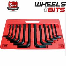NEW 12pc XL Jumbo AF Imperial & Metric Allen Hex Keys Farm Plant Machinery HGV