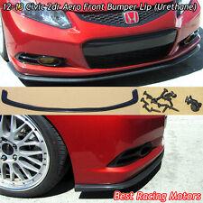 Aero Style Front Bumper Lip (Urethane) Fits 12-13 Honda Civic 2dr
