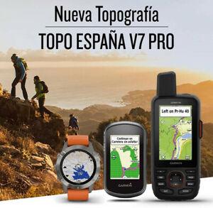 Garmin TOPO España V7 PRO Spain
