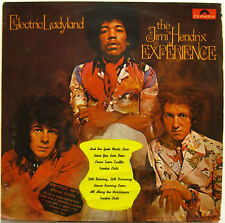JIMI HENDRIX EXPERIENCE Electric Ladyland 1968 ISRAEL ORG (Single Disc) LP Psych