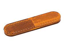 Reflektor 95x25mm Orange Kunststoff Selbstklebend für Vespa ET2 ET4 LX S 50-150
