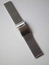 Milanaise Edelstahl Uhrenarmband 20 mm 3,2 mm XS Stahlband von Aristo Vollmer
