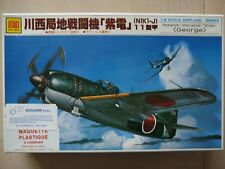"Maquette avion 1/48 Otaki Ref 4 Kawanishi Intercepter ""Shiden"" George"