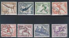 1936 Germany Olympics semi postal stamp set used/light hinge F/VF B82-89 TMM*