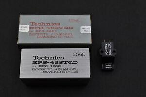 Technics EPC-460C 4ch CD-4 Cartridge with MIB! Original stylus EPS-46STQD