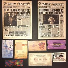 Gryffindor Christmas Stocking Stuffer Daily Prophets Tickets Harry Potter Custom