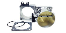 Accufab New Style 90mm Mustang 5.0L Polished Throttle Body & Blank Spacer Kit