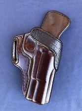 Garrity's Gunleather Custom Leather OWB Holster Browning HiPower