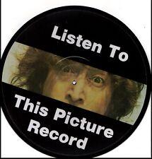 JOHN LENNON LISTEN TO THIS PICTURE RECORD  RARE Vinyl Record Picture Disc