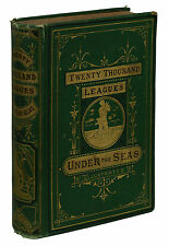 Twenty Thousand Leagues Under the Seas ~ JULES VERNE ~ First Edition ~ 1st 1873