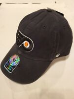 New W/Tags~'47 Brand NHL Phildelphia Flyers Black Fitted Franchise Hat Size XL