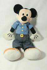 "New listing 20"" Disney Mickey Mouse Blue Shirt Plush Stuffed Toy"