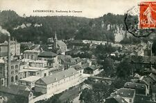 Carte LUXEMBOURG Faubourg de Clausen