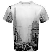 Classic New York City Sublimated Men Sport Mesh Tee T-Shirt S-3XL free shipping