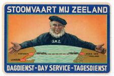 (I.B) Netherlands Cinderella : Zeeland Post Route (large format)