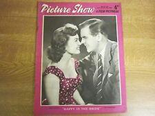 March 1958, PICTURE SHOW, Janette Scott, Teresa Wright, James Kenney, Hope Lange