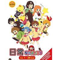 NICHIJOU Vol.1-26End + OVA Anime DVD