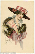 a/s LAW LUDSON. JOLIE FEMME. BEAUTIFUL LADY. CHARME. MODE. CHAPEAU. CHARM. HAT.
