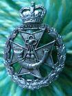 Staybrite Green Jackets Brigade Cap badge QC Anodised Aluminium maker JR GAUNT