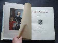 OLIVER CROMWELL by Samuel Gardiner: English Civil War / Military / History 1899