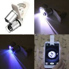 60X Zoom LED Digital Microscope Lens Case with Clip for iPhone Cell Phone Cute