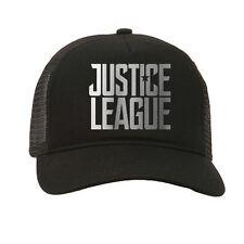 Justice League DC Superhero Comic Book Movie Adult Black Baseball Trucker Cap