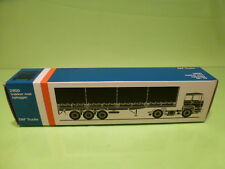 LION CAR 70 DAF TRUCKS 2800 TRAILER - 1:50 GOOD - * ONLY EMPTY BOX * (10)