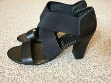womens rockport black shoes/ sandals size 38 (uk 5)