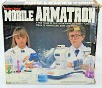Vintage 80s Robot Radio Shack Mobile ARMATRON Robotic Arm Parts Repair