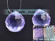 1/5pcs 22x20mm Findings Crystal Glass Loose Spacer Beads Chandelier Hanging Drop