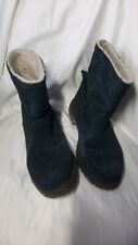 Timberland boots size 5 Navy Suede Anti Fatigue