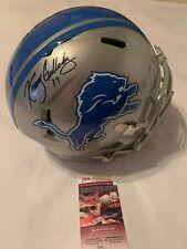 Kenny Golladay Autographed Full Size Detroit Lions Speed Helmet JSA Witness COA