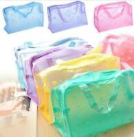 Travel Portable Mini Cosmetic Toiletry Organizer Pouch Wash Toothbrush Bag kim