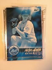 Jacob DeGrom New York Mets 2017 Topps MLB Bunt Blue Variant Card 65