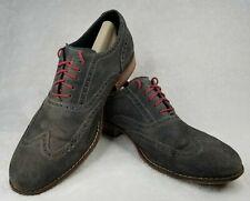 Cole Haan NikeAir Colton Men sz 11 M Green Suede Leather Wingtip Oxfords C09579