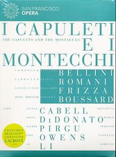 Bellini San Francisco Opera I Capuleti E I Montecchi DVD NEW Riccardo Frizza
