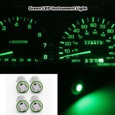 4x Super Green 5050 SMD LED Instrument Panel BA9S 1815 Light Bulb 1895 For Chevy