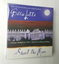 Shoot the Moon by Billie Letts (2004, CD, Abridged) NEW free shipping