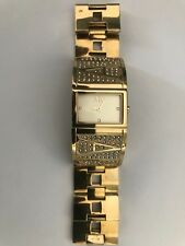 ARMANI EXCHANGE watch cuff ORIGINAL GOLD PLATED watch.only worn few times