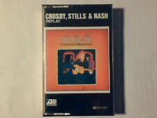CROSBY STILLS & NASH Replay mc cassette k7 ITALY DAVID RARISSIMA VERY RARE!!!