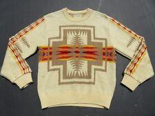 Mens PENDLETON High Grade Aztec Southwestern Indian Chief Joseph Sweater Medium