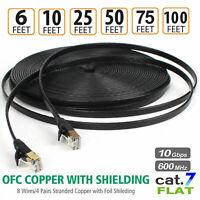 Cat7 Ethernet Kabel DSL LAN RJ45 Netzwerk Lan Patchkabel für Router Laptop