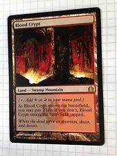 Mtg Magic the Gathering Return to Ravnica Blood Crypt