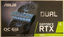 New Asus Dual RTX 2060 OC Edition 6GB GeForce GDDR6 Overclocked and VR Ready