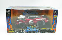 Muscle Machines 1969 Chevrolet Camaro RS Red 1:24 2012 New Free Shipping