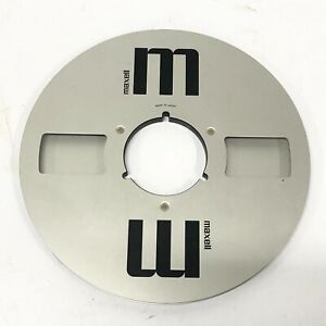 Maxell Metal Reel 29.7cm Open Reel No Tape From Japan - Good Condition - TGHH