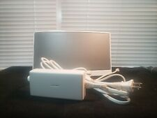 Bose SoundDock Music System iPod Docking Station White With Remote & Power Cord